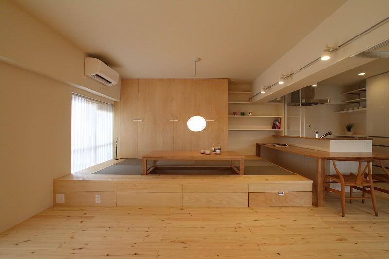 五色山の家~リノベーション~の部屋 和の空間