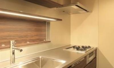 生野の家~リノベーション~ (広々としたキッチン)
