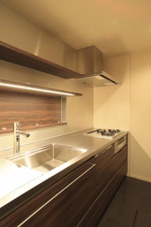 生野の家~リノベーション~の部屋 広々としたキッチン