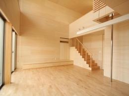 Gather House (居間)