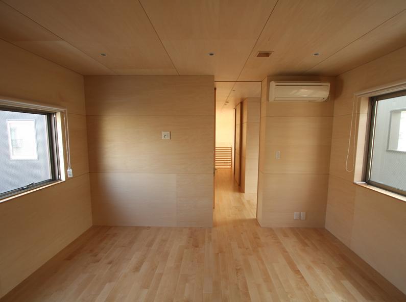 Gather Houseの部屋 寝室