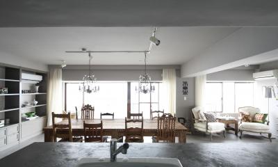 K邸 (キッチンからの眺め)