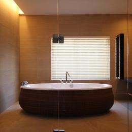 2階寝室専用バスルーム