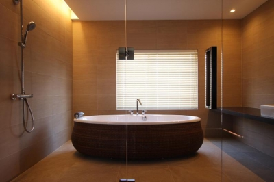 2階寝室専用バスルーム (Relaxation House)