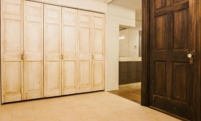 シンプル、シャビー、モロッコ調、部屋ごとに表情が変わるマンション (書斎)