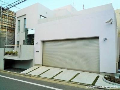 目黒のコートハウス (Facade)