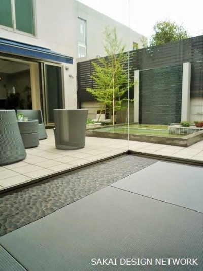 Terrace (目黒のコートハウス)