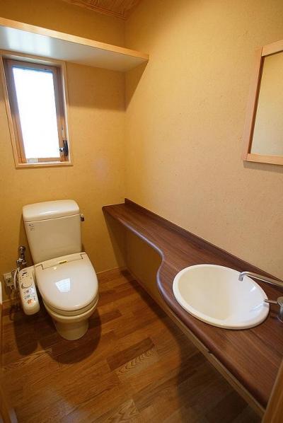 和風トイレ (邑久町の家)