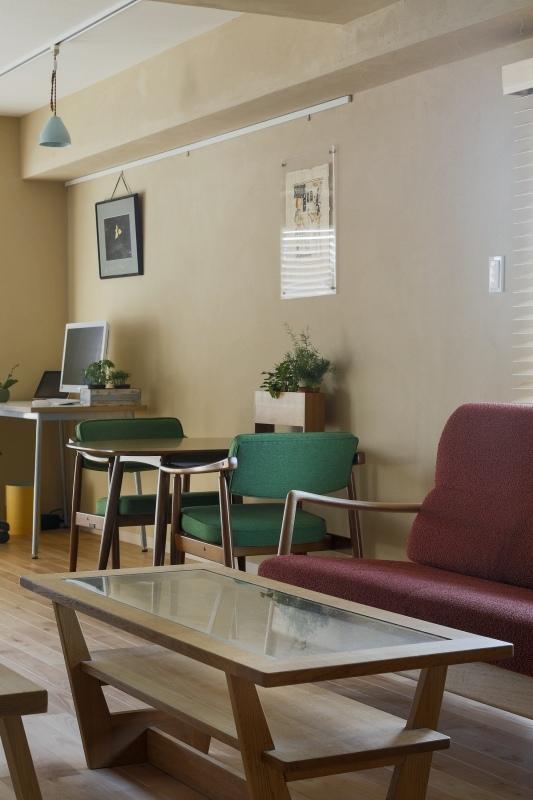 No.72 30代/3人暮らしの部屋 椅子とテーブル2