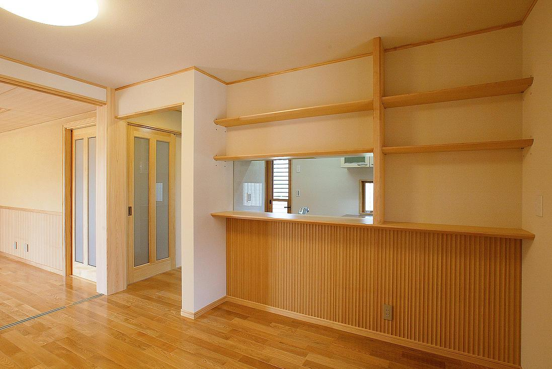邑久町の家の部屋 シンプルな和風ダイニング