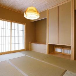 邑久町の家 (明るく落ち着いた和室)