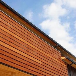 邑久町の家 (自然素材で囲ったバルコニー)