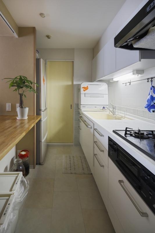 No.72 30代/3人暮らしの部屋 キッチン1