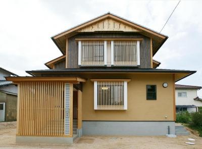 シンプルな和風住宅 (邑久町の家)