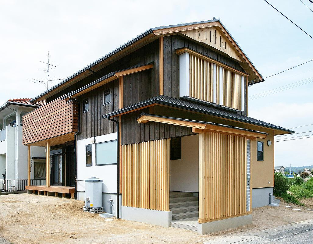 邑久町の家の部屋 シンプルな和風住宅
