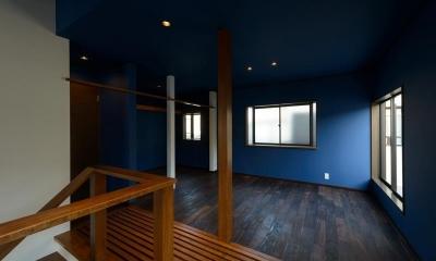リフォーム・リノベーション(中古住宅を夫婦2人の住まいへ) (二階プライベート・リビング)