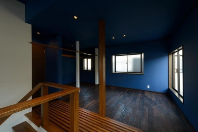 二階プライベート・リビング (リフォーム・リノベーション(中古住宅を夫婦2人の住まいへ))