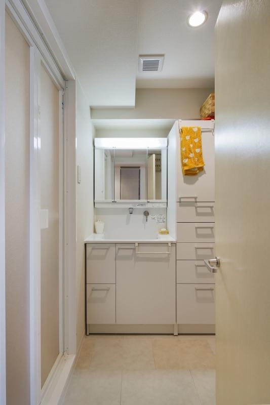 No.72 30代/3人暮らしの部屋 洗面所