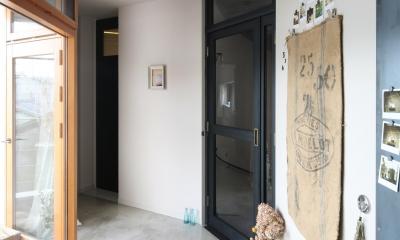K邸 (廊下)