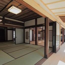 翡翠の家-広々とした和室
