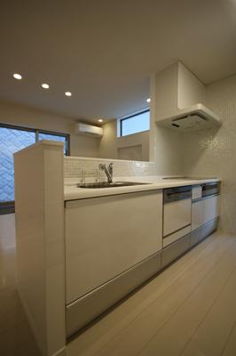 HA-HOUSEの部屋 シンプルなキッチン