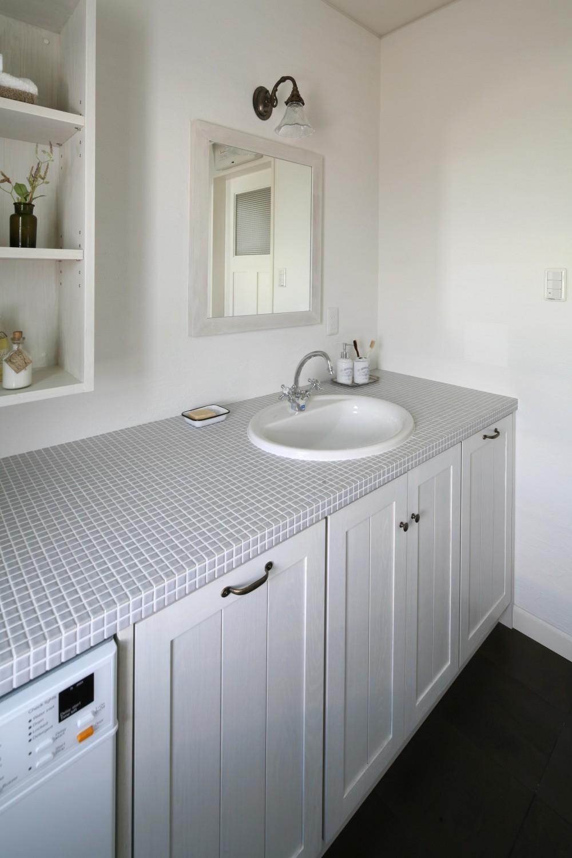 M邸 (シンプルでおしゃれな洗面台)
