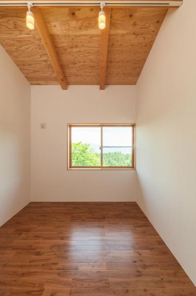 寝室 (霧ヶ峰の家)