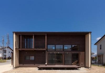 宮田の家 (後方から外観を見る)