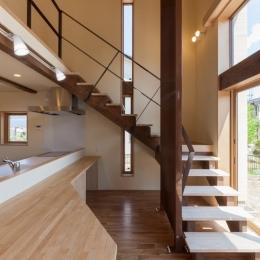 宮田の家 (オープン型階段)