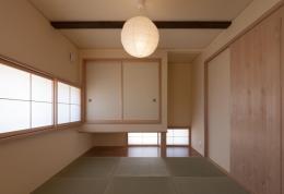 宮田の家 (地窓のある和室)