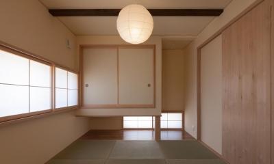 地窓のある和室 宮田の家