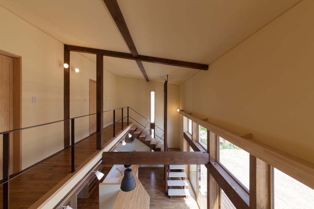 宮田の家の部屋 開放的な空間